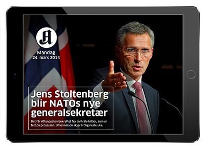 Du finner alle de vesentlige nyhetssakene  i Aftenposten+