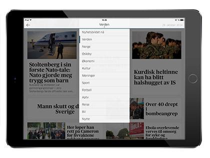 ALLTID OPPDATERT: Under Nyhetsbildet nå finner du til enhver tid de siste nyhetene. Alt vi publiserer på forsiden av Aftenposten.no er tilgjengelig her.